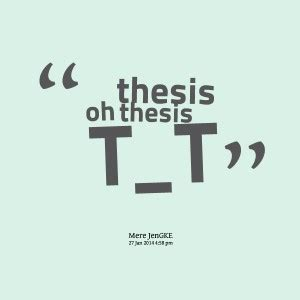 Rhyming words with thesis
